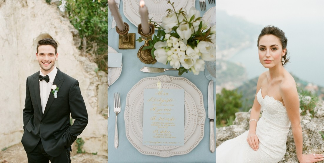 Amalfi Coast Fine Art Wedding Photographer