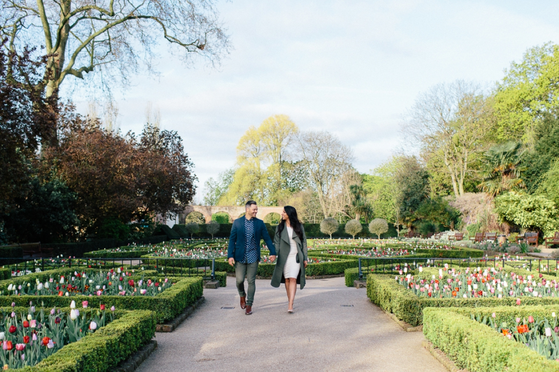 Lucy&Paul Holland Park London Engagement Shoot-17