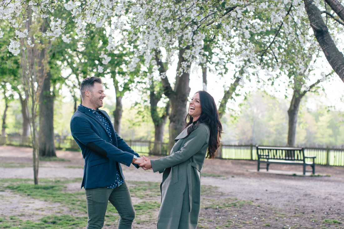 Lucy&Paul Holland Park London Engagement Shoot-3