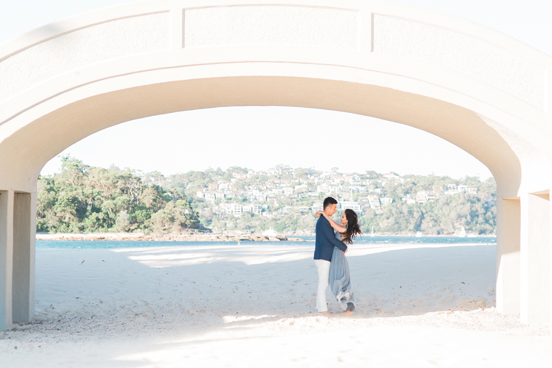 Sydney Balmoral Beach Engagement Shoot Young&Chris Kylee Yee-86