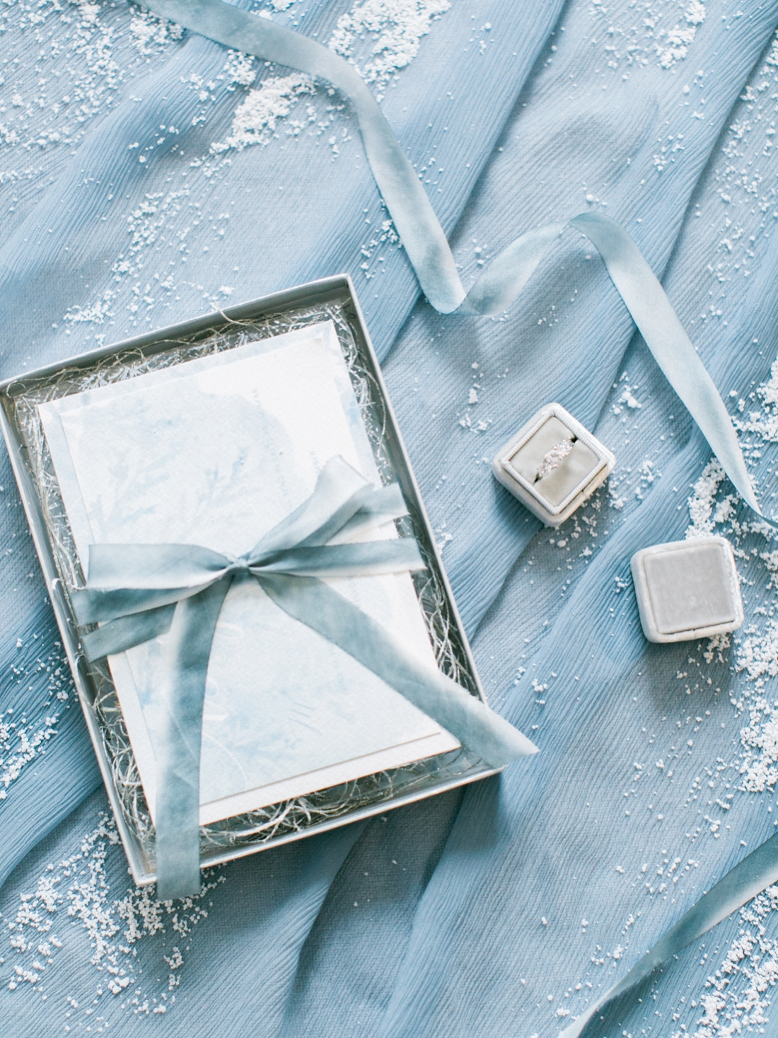 Wintery Blues Fine Art Wedding Inspiration Kylee Yee-105
