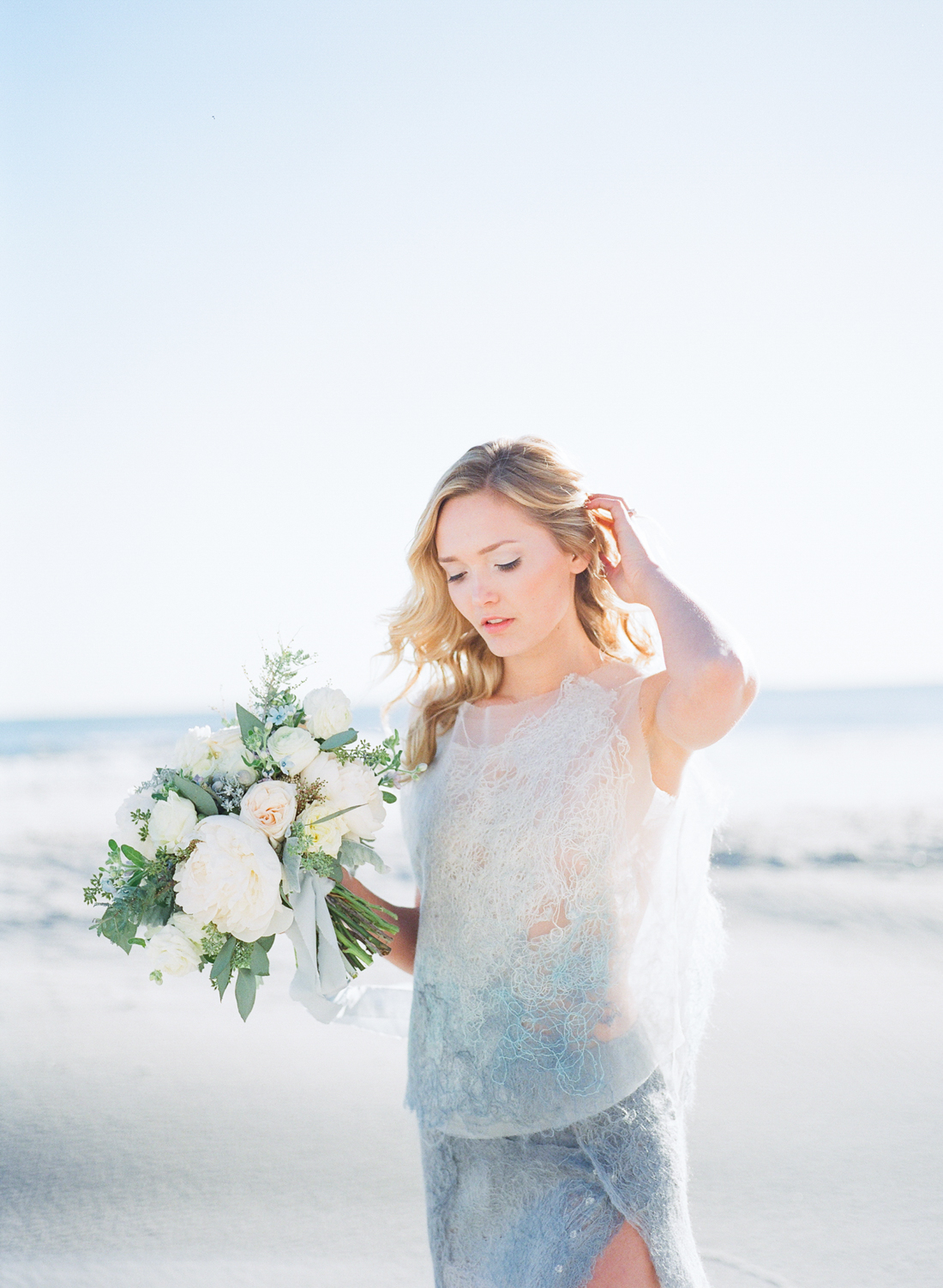 Wintery Blues Fine Art Wedding Inspiration Kylee Yee-28