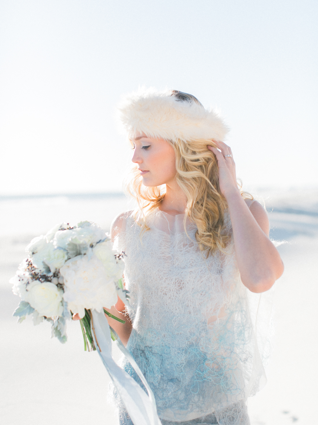Wintery Blues Fine Art Wedding Inspiration Kylee Yee-35