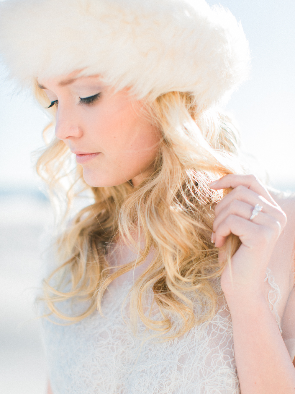 Wintry Blues Fine Art Wedding Inspiration Kylee Yee-8