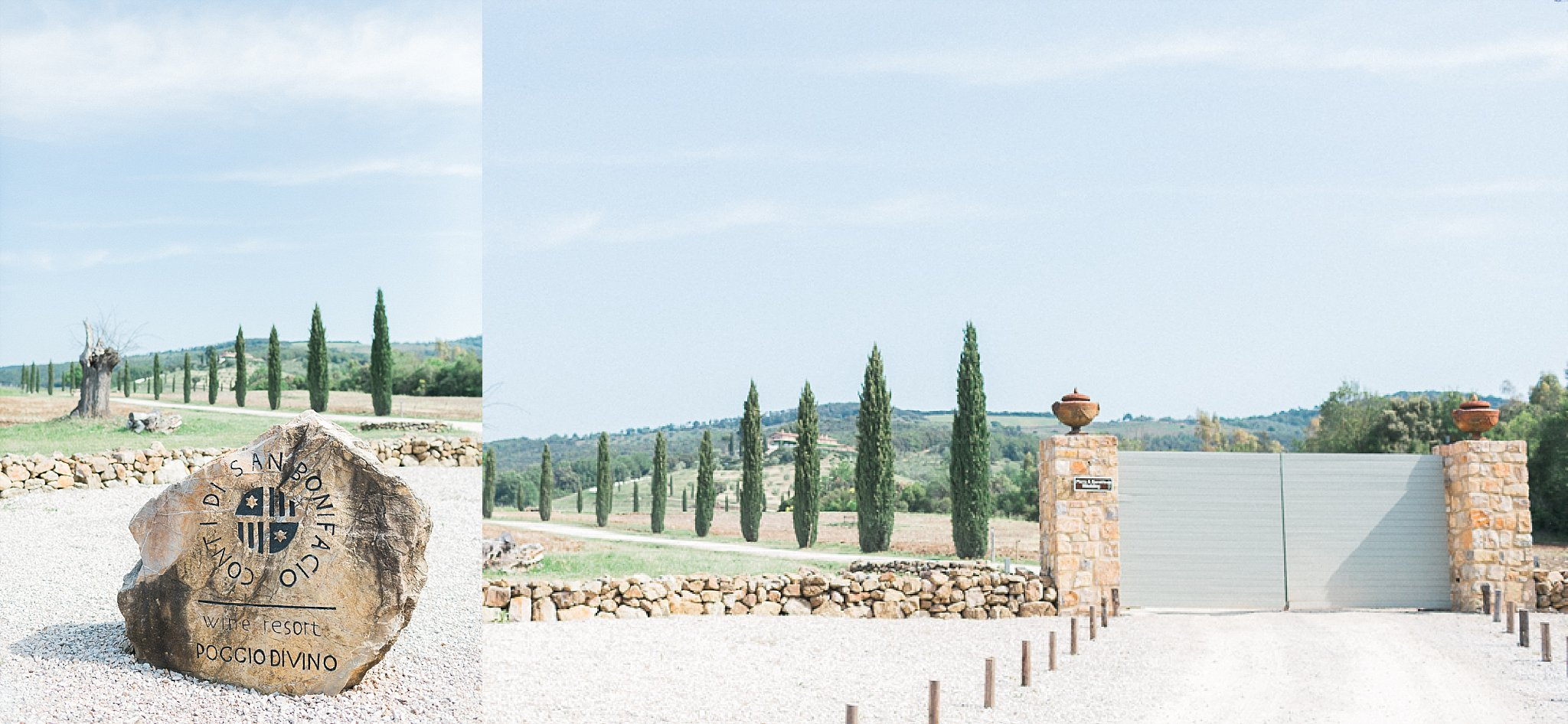 A Beautiful Outdoor Wedding Overlooking the Tuscany Hills – Sarah & Piers