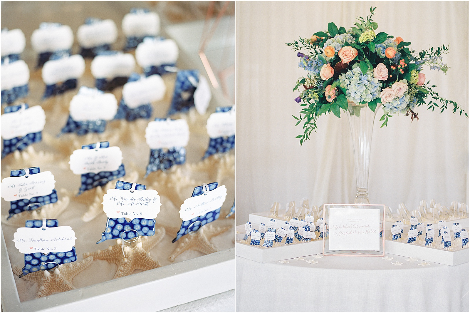 Newport Rhode Island Belle Mer Wedding Kylee Yee Photography Placecards