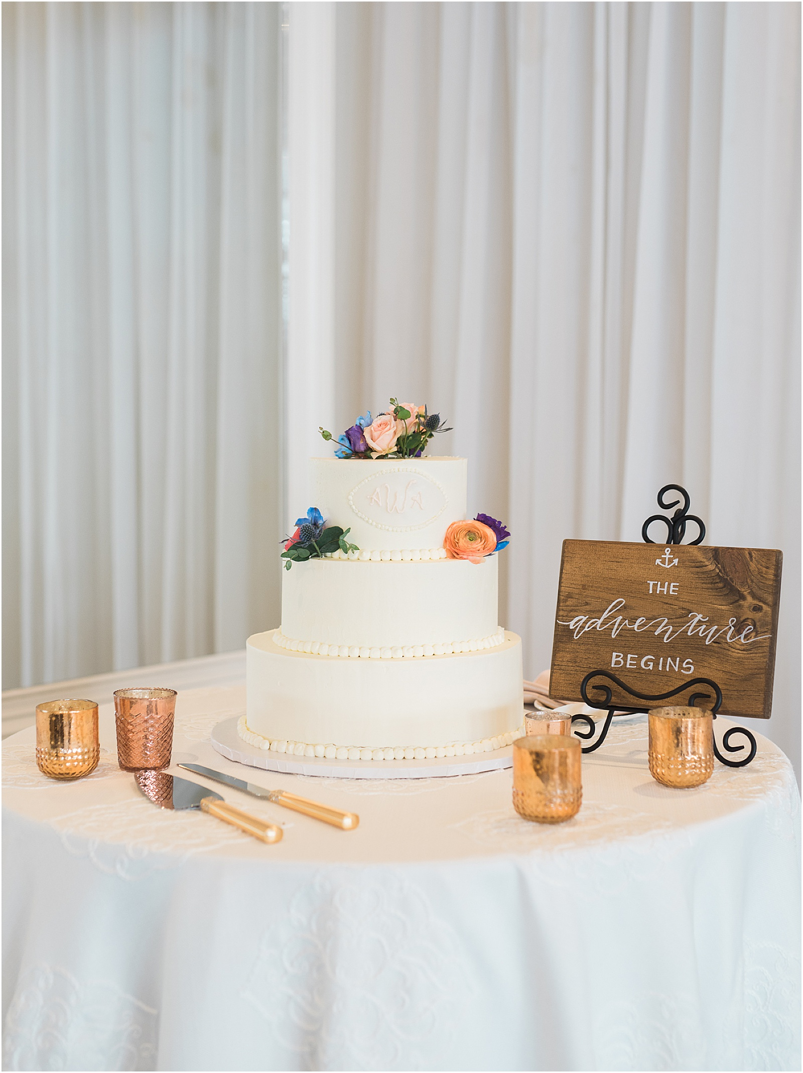 Newport Rhode Island Belle Mer Wedding Kylee Yee Photography Cake
