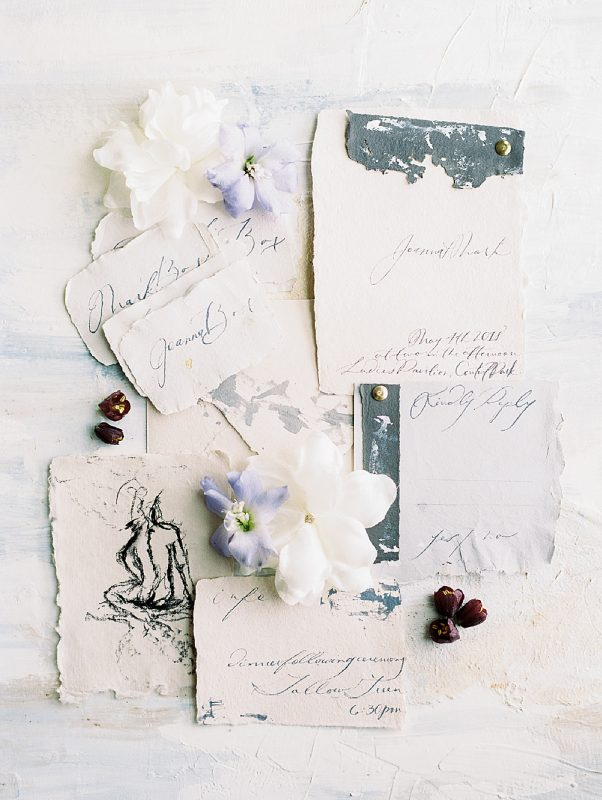 Intimate Central Park wedding invitation suite