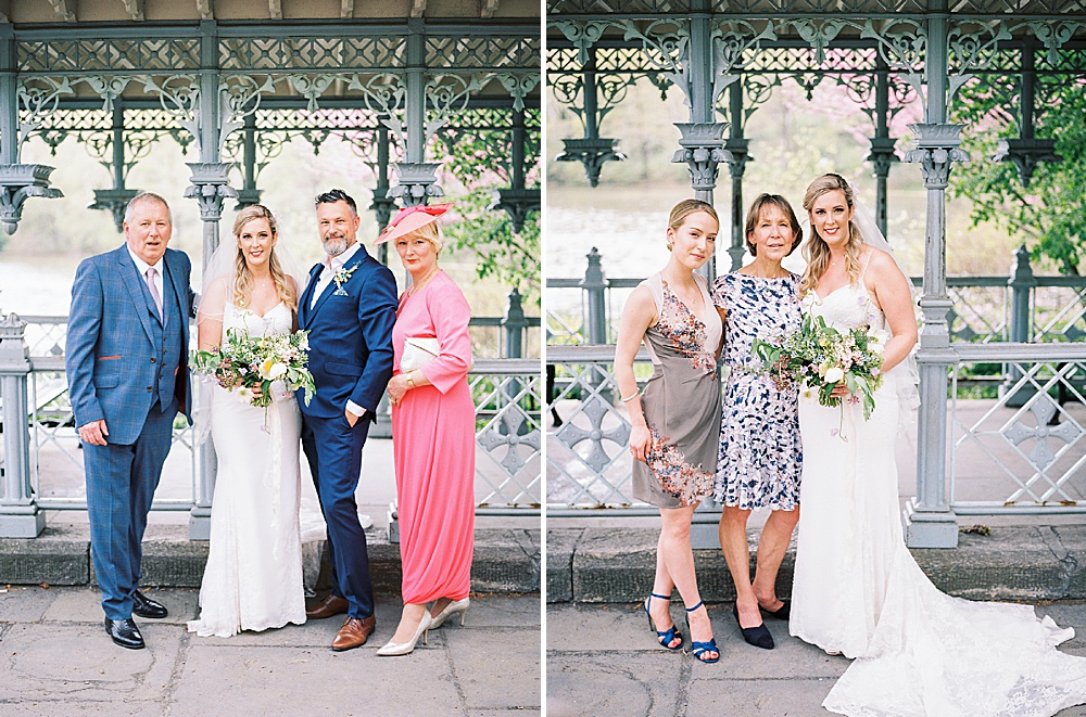 Intimate Central Park wedding at Ladies Pavilion