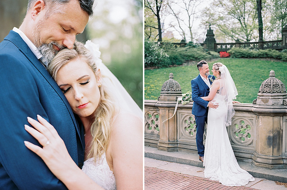 Intimate Central Park wedding