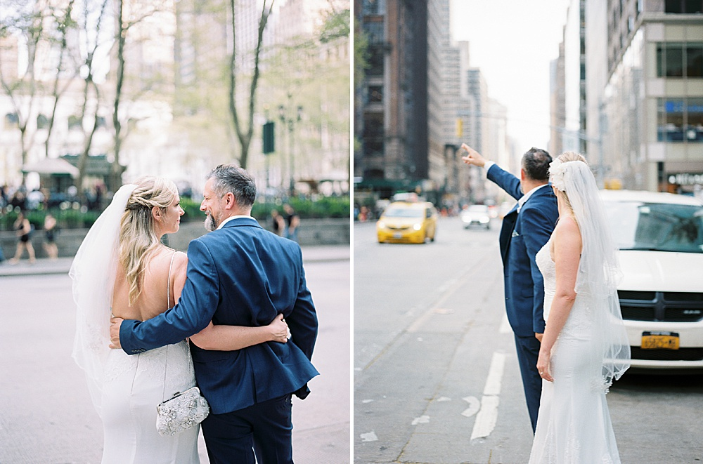 Intimate Central Park wedding New York City