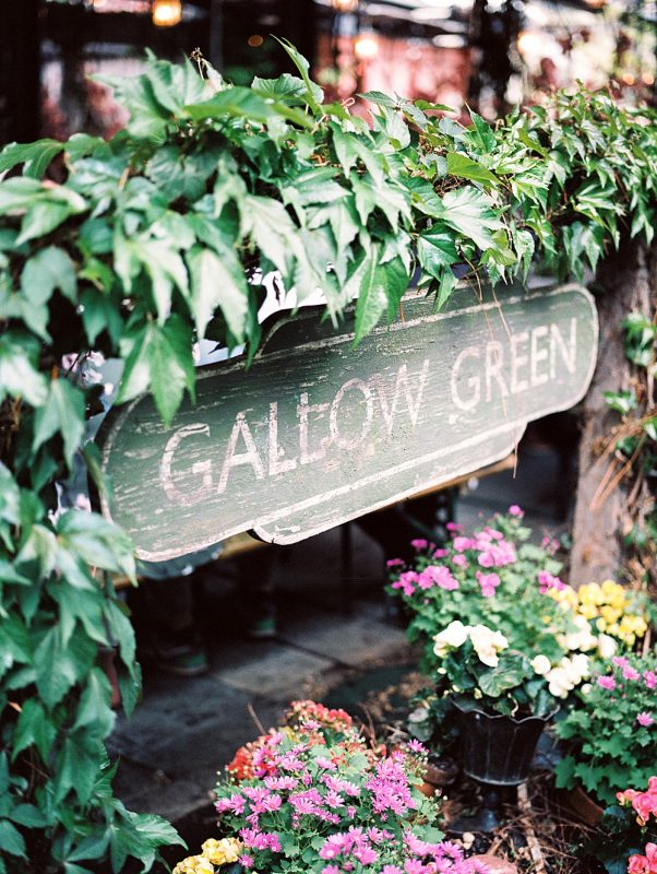 Intimate Central Park wedding Gallow Green