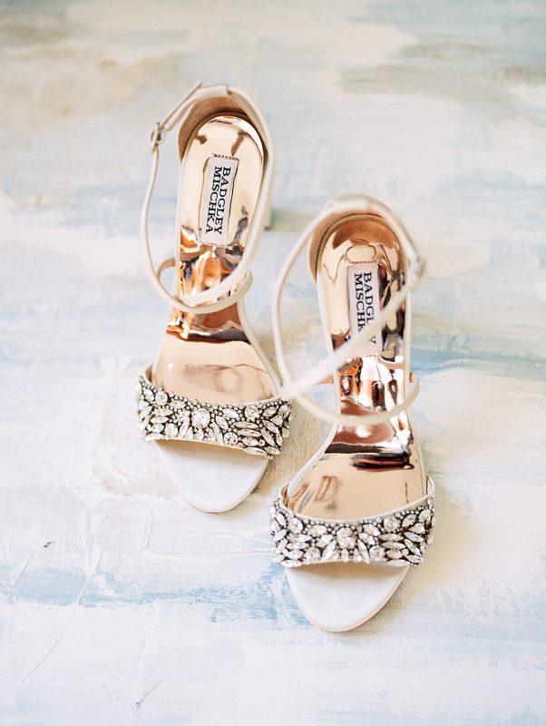 Mount Gulian Wedding Hudson Valley, NY Kylee Yee Photography Badgley Mischka shoes