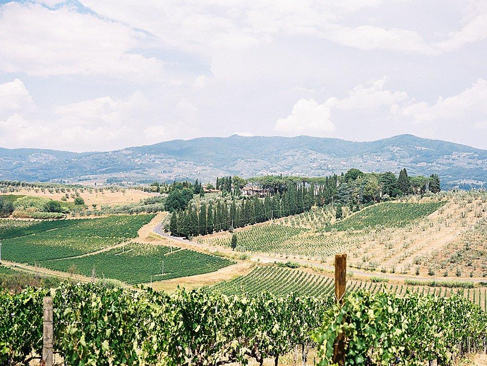 Italian countryside Tuscany