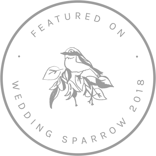 FEATURED ON WEDDING SPARROW GRAY