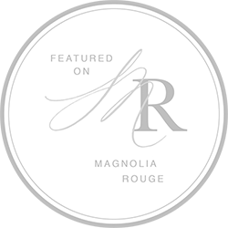 Magnolia Rouge Feature Badge