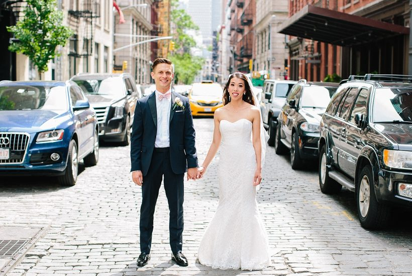 Downtown New York City Spring Wedding | Nancy + Peter