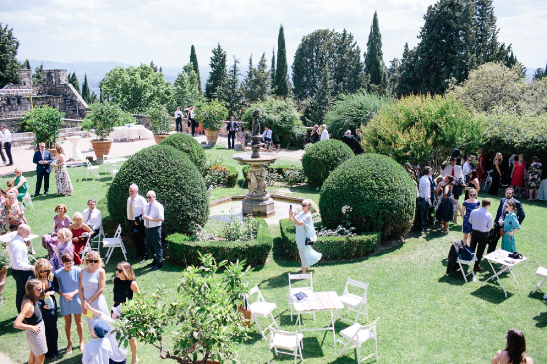 Tuscany Castello di Vincigliata Fiesole Wedding Kate & Mike-180