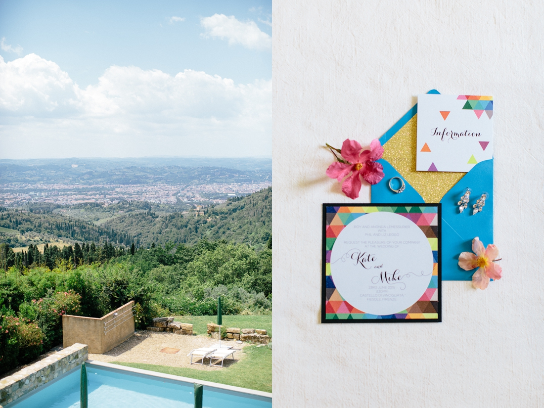 Tuscany Castello di Vincigliata Fiesole Wedding Kate & Mike-2