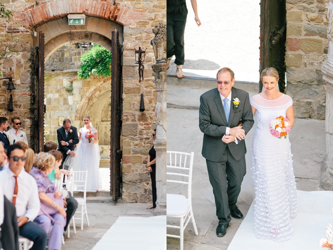 Tuscany Castello di Vincigliata Fiesole Wedding Kate & Mike-235