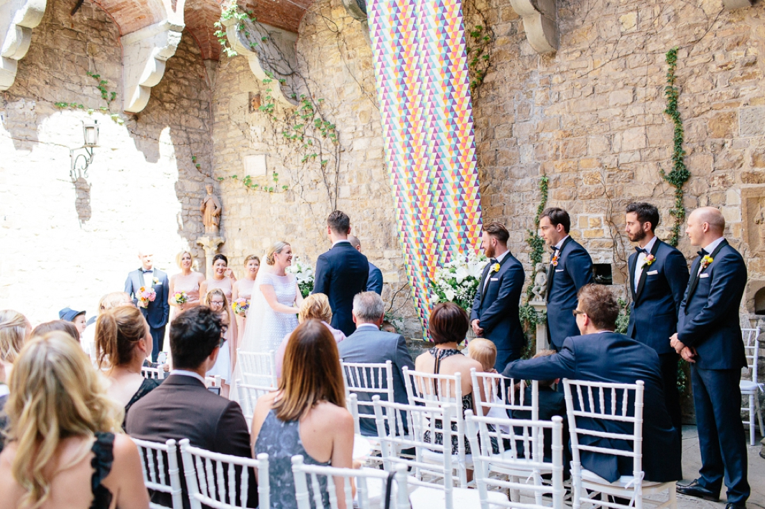 Tuscany Castello di Vincigliata Fiesole Wedding Kate & Mike-252