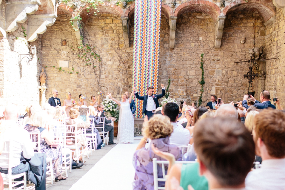 Tuscany Castello di Vincigliata Fiesole Wedding Kate & Mike-322