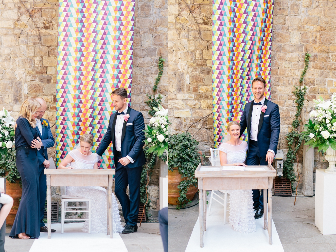 Tuscany Castello di Vincigliata Fiesole Wedding Kate & Mike-326