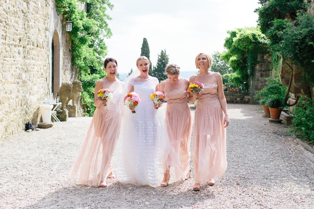 Tuscany Castello di Vincigliata Fiesole Wedding Kate & Mike-459