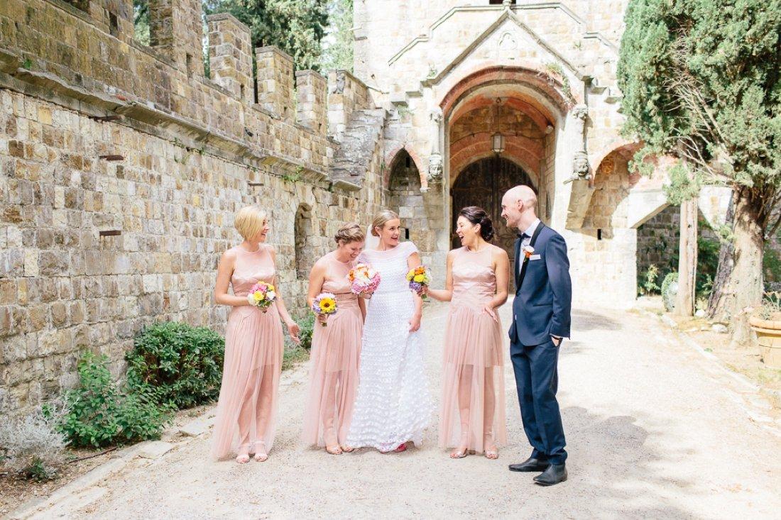 Tuscany Castello di Vincigliata Fiesole Wedding Kate & Mike-477
