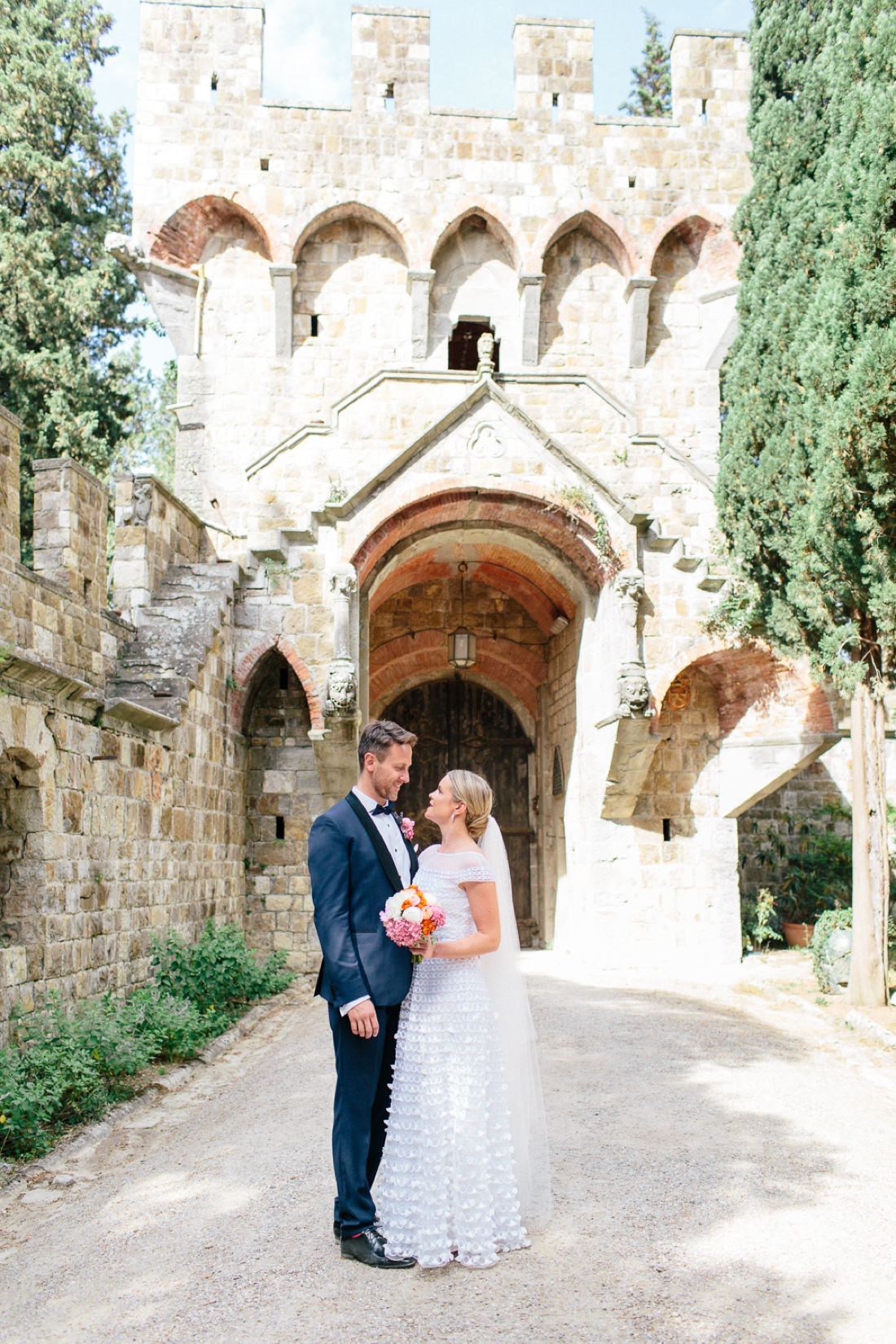 Tuscany Castello di Vincigliata Fiesole Wedding Kate & Mike-485