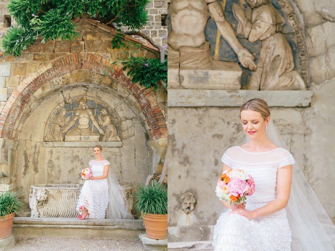 Tuscany Castello di Vincigliata Fiesole Wedding Kate & Mike-525