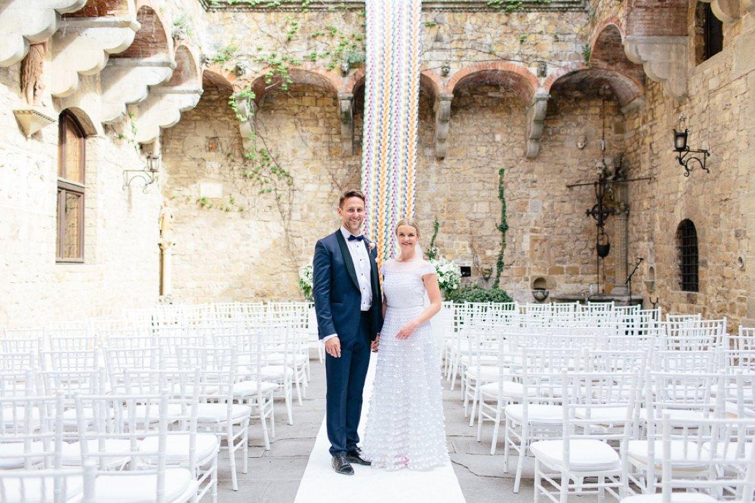 Tuscany Castello di Vincigliata Fiesole Wedding Kate & Mike-532