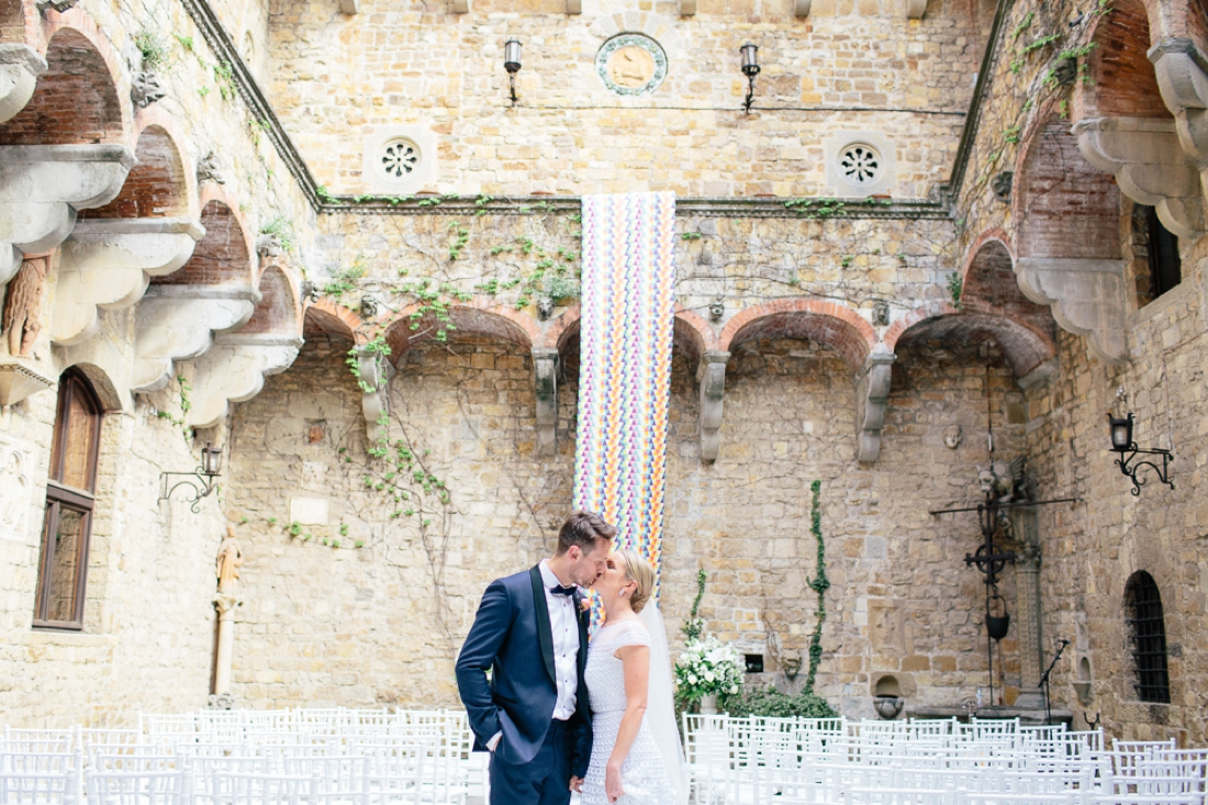 Tuscany Castello di Vincigliata Fiesole Wedding Kate & Mike-536