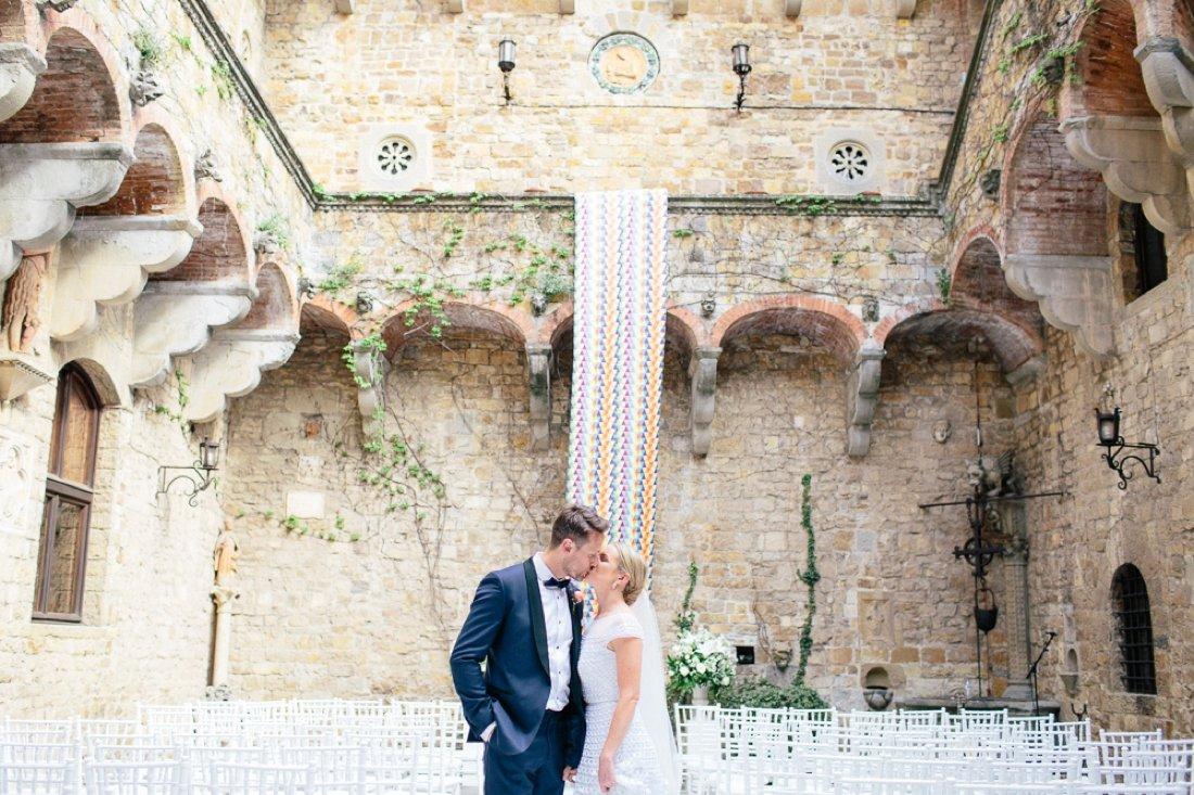 Tuscany Castello di Vincigliata Fiesole Wedding Kate & Mike-536