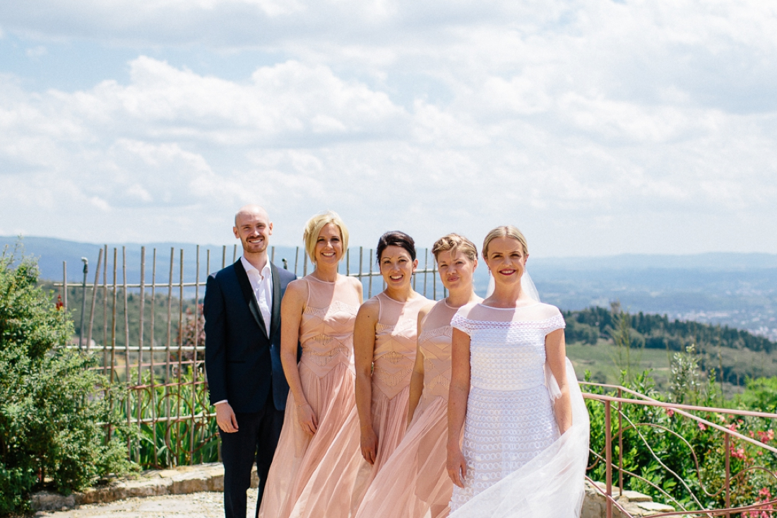 Tuscany Castello di Vincigliata Fiesole Wedding Kate & Mike-79