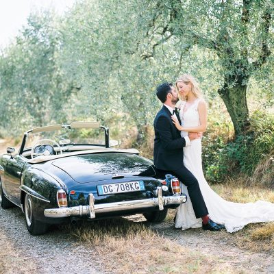 Outdoor Villa Dianella Tuscany Wedding | Kiara + Steffan